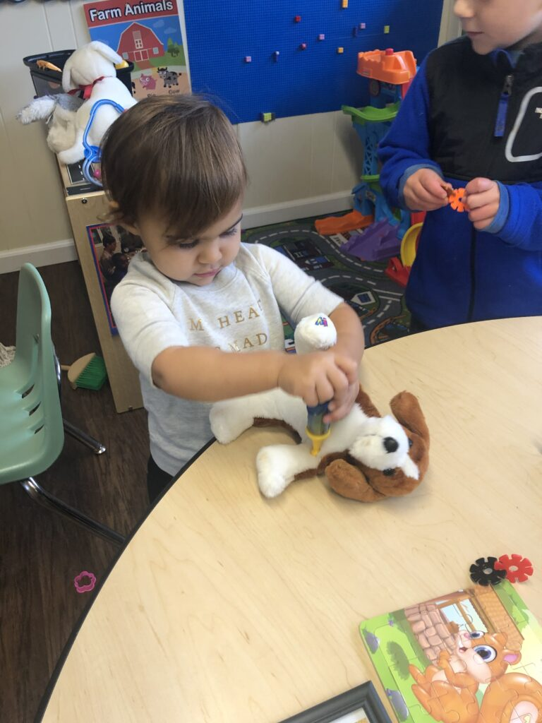 We have a doctor in the preschool